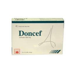 Thuốc kháng sinh PMP Doncef 500mg