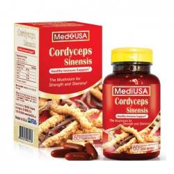 Đông trùng hạ thảo Cordyceps Mediusa, Hộp 60 viên
