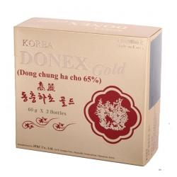 Đông trùng hạ thảo Donex gold, Hộp 2 lọ 65g