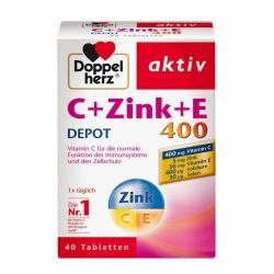 Tpbvsk Bố Sung Vitamin Doppelherz C Zink  E 400 Depot