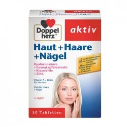 Viên Uống đẹp da, tóc và móng Doppelherz Haut Haare Nagel 30 viên