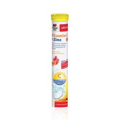 Tpbvsk viên sủi Doppelherz Vitamin C + ZinC