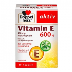 Tpbvsk Vitamin E thiên nhiên Doppelherz Vitamin E 600N