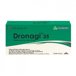 Dronagi 35 Agimexpharm 1 vỉ x 4 viên