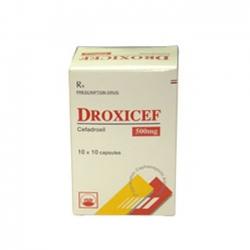 Thuốc kháng sinh PMP Droxicef 500 mg