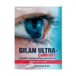 Dung dịch nhỏ mắt Gilan Ultra Comfort, Hộp 30 tuýp
