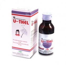 Dung dịch uống U-Thel Syrup, Chai 60ml