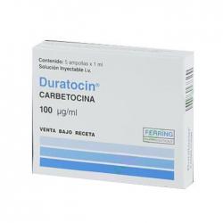 Thuốc Duratocin 100mcg/ml, Hộp 5 ống x 1ml