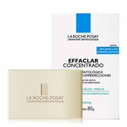 Thanh rửa mặt và làm sạch toàn thân ngăn ngừa mụn cho da dầu nhạy cảm La Roche-Posay Effaclar Purifying Bar 80g