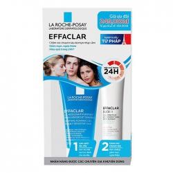 Bộ Chăm Sóc Da Mụn Nhạy Cảm La Roche Posay Effaclar Kit