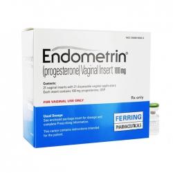 Thuốc Endometrin 100mg, Hộp 21 viên