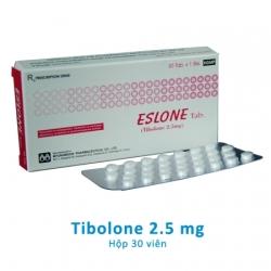 ESLONE TAB Tibolone 2,5mg giúp điều trị các triệu chứng mãn kinh tự nhiên
