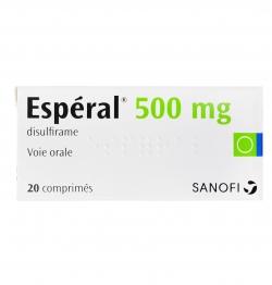 Thuốc cai rượu Disulfiram 500mg ( Esperal - Antinol - Antabus - Alcobuse )