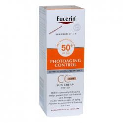 Kem chống nắng có màu Eucerin Sun Creme Tinted CC Fair SPF50+ (50ml) 69776