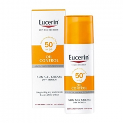 Kem chống nắng kiểm soát nhờn cho da dầu Eucerin Sun Gel-Creme Oil Control Dry Touch SPF 50 50 ml