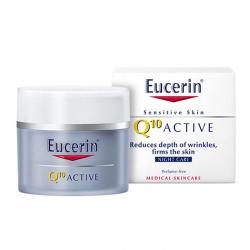 Kem dưỡng ngăn ngừa lão hóa ban đêm Eucerin Q10 Acive Night Cream 50ml
