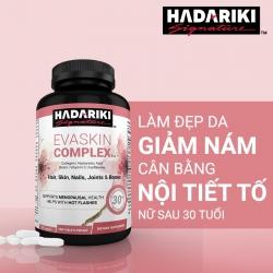 Tpbvsk Hadariki Evaskin Complex giúp làm đẹp da và tăng cường sinh lý nữ