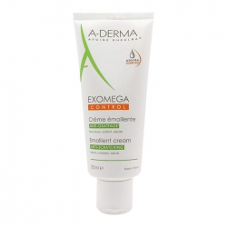Kem làm mềm da, dịu kích ứng A-Derma Exomega Control Emollient Cream 200ml