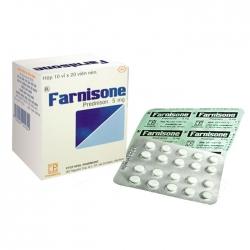 Pharmedic Farnisone 5mg, Hộp 200 viên