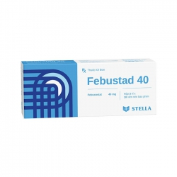 Thuốc Stella Febustad 40mg, Hộp 30 viên