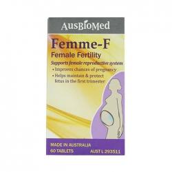 Thực phẩm bảo vệ sức khỏe Femme F, Chai 60 viên
