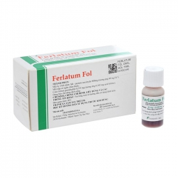 Thuốc Ferlatum Fol, Hộp 10 lọ x 15ml