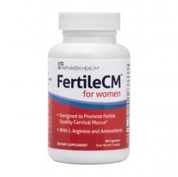 Fairhaven Health FertileCM For Women tăng chất nhầy cổ tử cung nâng cao khả năng thụ thai