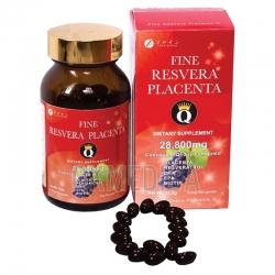 Viên uống đẹp da làm chậm lão hóa Fine Resvera Placenta Q