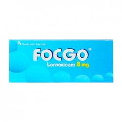 Focgo 8mg Usarichpharm 3 vỉ x 10 viên