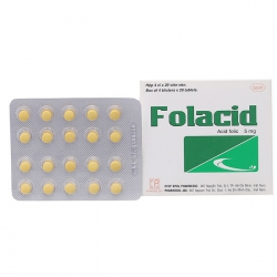 Pharmedic Folacid 5mg, Hộp 80 viên