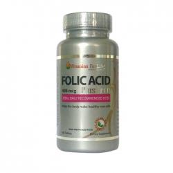 Viên bổ sung Folic Acid Plus Iron, Chai 100 viên