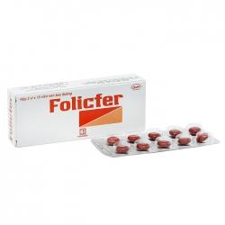 Pharmedic Folicfer, Hộp 30 viên