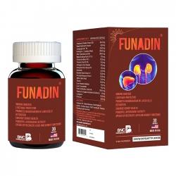 Funadin tăng cường khả năng thải độc và bảo vệ gan, Hộp 30 viên