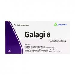 Galagi 8 Agimexpharm 6 vỉ x 10 viên