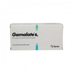 Gamalate B6 - Magne glutamate hydrobromide 75mg, Hộp 2 vi x 10 viên