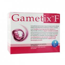 Tpbvsk tăng khả năng sinh sản cho phụ nữ Gametix F, Hộp 30 gói