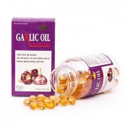 Garlic Oil Kingphar Viên Uống Tỏi Tía | Hộp 100 viên
