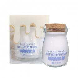 Kem dưỡng trắng da Garsia Made Light Up Tofu Cream Hàn Quốc, Hũ 80g