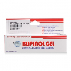 Gel chăm sóc sẹo bỏng Bupinol 10g