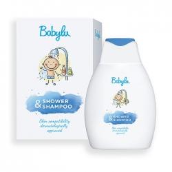Gel tắm gội 2 trong 1 cho bé Shower & Shampoo 300ml Babylu