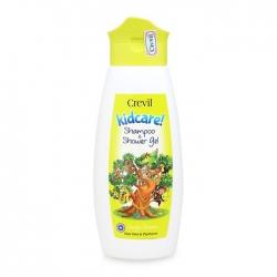 Gel tắm gội cao cấp 2 trong 1 cho trẻ em Kidcare Shampoo & Shower 300ml Crevil