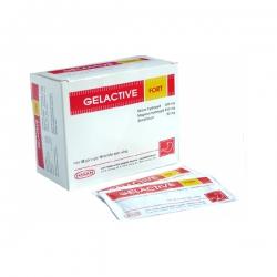 Thuốc tiêu hóa Gelactive fort 300mg, 400mg, 30mg, Hộp 30 gói x 10ml