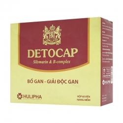 Giải độc gan Detocap, Hộp 60 viên