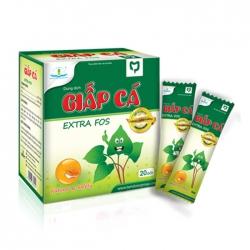 Dung dịch Giấp cá Extra Fos - dùng cho trẻ em, Hộp 20 gói