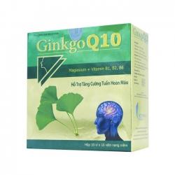 Tpbvsk bổ não Ginkgo Q10 Vinaphar, Hộp 100 viên