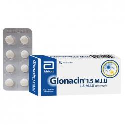 Thuốc kháng sinh Abbott Glonacin 1.5 M.I.U   Hộp 16 viên