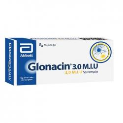 Thuốc kháng sinh Abbott Glonacin 3.0 M.I.U   Hộp 10 viên