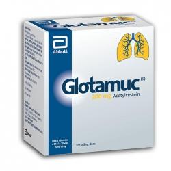 Thuốc ho Abbott Glotamuc 200mg | Hộp 100 viên