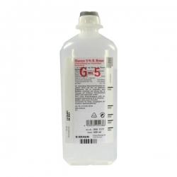 Dịch truyền Glucose 5% 500ml B. Braun - Thùng 10 chai
