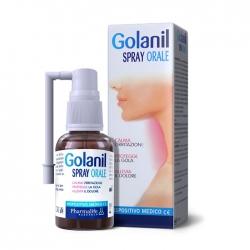 Tpbvsk hỗ trợ điều trị ho, viêm họng cho trẻ  từ 3 tuổi trở lên Golanil Spray Orale, Lọ 30ml